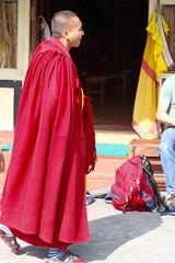 Tibetan Buddhist Monk - Pokhara (Sharon and Peter Komidar) Tags: nepal monk lama pokhara buddhistmonk tashiling tibetanbuddhistmonk