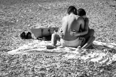 Abbracci in Spiaggia (Cristiano Drago) Tags: blackandwhite sun black beach canon grey blackwhite hug grigio sad stones triste pietre sicily hugs sole bianco nero spiaggia sicilia biancoenero nationalgeographic tristezza siciliani siciliano siculi scopello siculo 650d abbracci abbaccio ilobsterit cristianodrago