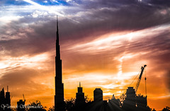 Burj Khalifa at Sunset | Dubai | UAE (Yannick Schumacher Photography) Tags: blue sunset sky sun art skyline architecture speed photoshop sunrise canon landscape photography warm dubai uae sigma line khalifa astrophotography shutter rays sunrays 70300mm unitedarabemirates burj duba 70300 landscapephotography sigma70300mm skylinedubai allback 100d photographylovers canon100d samyang8mm burjkhalifa yannickschumacher socialjustice123 pcbruh politicallycorrectbruh