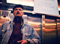 Down for You Is Up (STILLS OF ROGER WOLFE) Tags: nikon elevators lifts paleblueeyes alanpaine
