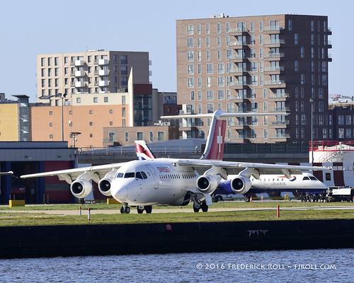 Swissair  Avro RJ100 ~ HB-IYR