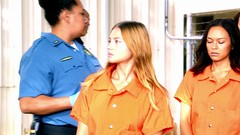 h50503_01755 (UJB88) Tags: county orange women uniform prison jail facility jumpsuit correctional restrained