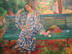 The Pleasure of the Heart by the Pleasure of the Eye .... (dodagp) Tags: vienna austria paintings museums palaces albertina onthegreenbench currentexhibitions henrilebasque thepleasureoftheheartbythepleasureoftheeye