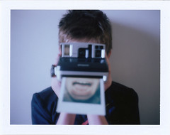 I have no mouth and I must scream (fedupwithdigital) Tags: colour polaroid sx70 land 340 packfilm fp100c picinpic impossibleproject