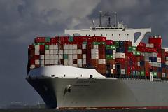 MANHATTAN BRIDGE (angelo vlassenrood) Tags: netherlands canon boot photo shoot ship shot picture nederland vessel cargo container 7d manhattanbridge angelo photoshot schip westerschelde walsoorden