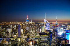 Top of the Rock (RonnieZ86) Tags: street nyc newyorkcity sunset urban usa holiday rock outdoors nikon flickr fotografie outdoor top united great streetphotography states dag cityview 2015 citytrip herfstvakantie nikond7000 rzphotography rzfotografie