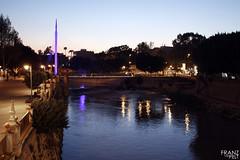 Murcia (Franz Van Pelt) Tags: water ro river puente spain espanha murcia pasarela espagne spagna segura manterola
