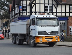 W844 ULN: N.A. Wood, Whatstandwell (chucklebuster) Tags: tipper matlock foden 6wheeler nawood w844uln