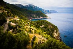 Mallorca (Steffen Walther) Tags: ocean travel summer green coast spain terrace canon5d blau mallorca mediterraneansea canon1740l banyalbufar fruitplantation steffenwalther