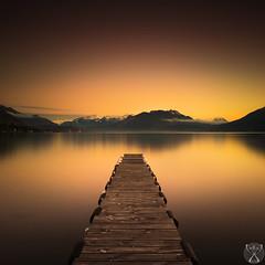 Dor  la lumire fine (cedric.chiodini) Tags: lake water landscape eau lac paysage ponton gnd nd1000 canon5dmkiii