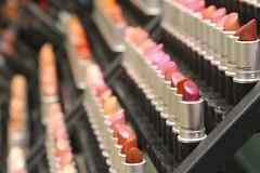 Lipstick (Read2me) Tags: she pink red store colorful dof display many makeup row shelf lipstick cye gamewinner tcfe friendlychallenges pregamewinner