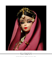 Princess of India (thitipatify) Tags: india love robert fashion vintage studio toy model shoes holidays doll dress barbie best retro hollywood saree royalty diorama silkstone robertbest