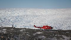Ice cap (Lil [Kristen Elsby]) Tags: glacier arctic helicopter greenland crevasse moraine arcticcircle icecap travelphotography ilulissat airgreenland icesheet jakobshavn greenlandicecap icecrevasse jacobshavnglacier canon5dmarkii sermeqkujalleq jakobshavnglacier