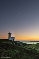 Elie lighthouse (Smedz28) Tags: sunset lighthouse landscape coast scotland nikon fife elie d3200