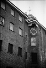 (Jack Theobald) Tags: portrait england white black film contrast analog 35mm buildings landscape manchester long exposure experimental empty ghost surreal hp5 ilford surroundings glossop