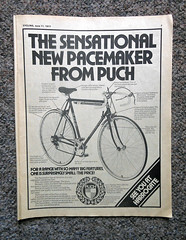 I remember (Camperman64) Tags: bike vintage magazine cycling memories first advertisement 1977 puch pacemaker