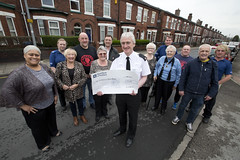Community Piggy Bank Gives £37,000 to Salford Projects (Greater Manchester Police) Tags: poca eccles markkenny proceedsofcrimeact salfordstreet moneyfromcriminals salfordcriminals policeionsalford communitypiggybank