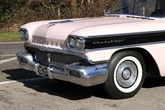 1958 Oldsmobile Rocket 88 VSL 313 (3) (BIKEPILOT, Thx for + 4,000,000 views) Tags: classic car vintage automobile transport hampshire 1958 hotrod vehicle americana custom carshow oldsmobile aldershot 2016 rocket88 wheelsday rushmoorarena surreystreetrodders vsl313