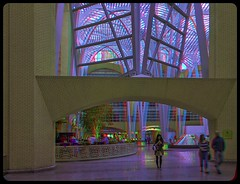 Inside Brookfield Place 3-D ::: HDR/Raw Anaglyph Stereoscopy (Stereotron) Tags: urban toronto ontario canada architecture modern america radio canon eos stereoscopic stereophoto stereophotography 3d downtown raw control contemporary north citylife kitlens twin anaglyph financialdistrict stereo brookfield stereoview to remote spatial 1855mm hdr province redgreen tdot 3dglasses hdri transmitter stereoscopy synch anaglyphic optimized in threedimensional hogtown stereo3d thequeencity cr2 stereophotograph anabuilder thebigsmoke synchron redcyan 3rddimension 3dimage tonemapping 3dphoto 550d torontonian stereophotomaker 3dstereo 3dpicture anaglyph3d yongnuo stereotron