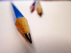 A Perspective (Haytham M.) Tags: pencil writing paper eraser write graphite canonpowershot