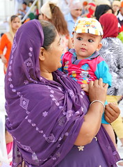 SikhTempleNewDelhi005 (tjabeljan) Tags: india temple sikh newdelhi gaarkeuken sikhtemple gurudwarabanglasahib