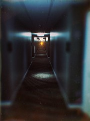 Will you make it there (BLACK EYED SUZY) Tags: long doors hallway explore tadaa afterlight lenslight