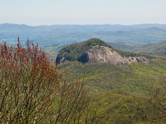 View of Looking Glass Rock from Looking Glass Rock Overlook - Blue Ridge Parkway (jimf_29605) Tags: northcarolina olympus zuiko blueridgeparkway e5 lookingglassrock zd transylvaniacounty 1260mm lookingglassrockoverlook