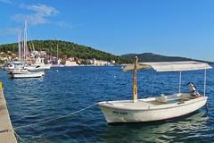 marina and hills :) (green_lover) Tags: sea water marina boats croatia hills wharf rogoznica