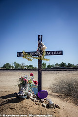 RIP Baylee McLean (Barstow Steve) Tags: california plane decoration boron descano