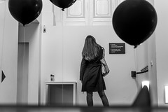 two directions (R/R Photography) Tags: blackwhite candid streetphotography indoor graz rrphotography