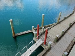 Ramps to Water Level (mikecogh) Tags: ramp waterfront wharf wellington access pylons levels