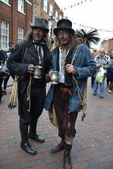 A pair of sweeps (Liz Lyne (Corstopitum)) Tags: uk chimney costume kent victorian sweep dickensian rochestersweepsfestival