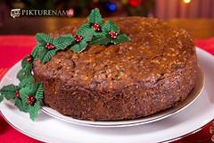Eggless_rich_fruit_cake-3 logo (anindya0909) Tags: christmas cake eggless richfruitcake