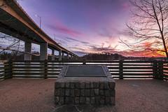 Lee Bridge Sunset (Joey Wharton) Tags: bridge sunset architecture outdoors virginia dusk richmond va rva