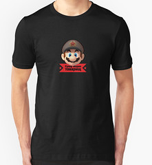 Its-a Me! Your comrade Mario (Memes, T-Shirts) Tags: propaganda super mario communism soviet bros comrade communnist