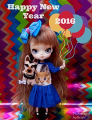 Happy New Year!! (BrightMoon Dolls) Tags: doll dal newyear 2016 dotori
