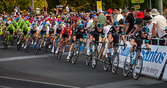 The Lead Out Trains (Explored) (*ScottyO*) Tags: road sky classic sports bike bicycle race scott cycling action cycle adelaide sa cannondale southaustralia criterium tourdownunder pinarello tdu