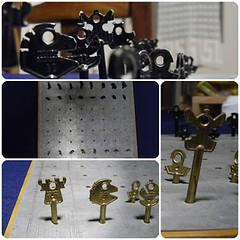 Ajedrez II (Oscar Omar) Tags: keys arte chess craft artesana ajedrez llaves manualidad reusar oscaromar