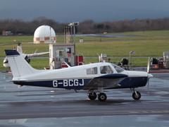 G-BCGJ Piper Cherokee 28 (Aircaft @ Gloucestershire Airport By James) Tags: james airport gloucestershire cherokee 28 piper lloyds egbj gbcgj