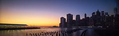 Looking back from Brooklyn (Nobbinumnut) Tags: sunset usa newyork apple weather brooklyn lowlight groins