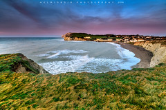 Freshwater Bay,Isle Of Wight (Helminadia Ranford) Tags: uk travel england holiday nature sunrise landscape isleofwight gb freshwaterbay