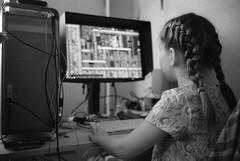 Scan-160101-0030 (Oleg Green (lost)) Tags: new blackandwhite bw film home 35mm children mac power voigtlander year rangefinder g5 400 workplace holydays rf hexar 1735 fomapan ultron