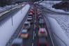 Friday afternoon (Svein K. Bertheussen) Tags: red cars traffic queue trafficjam biler rødt slowtraffic bremselys brakinglights fridayafternoontraffic trafikkø køkjøring fredagstrafikk