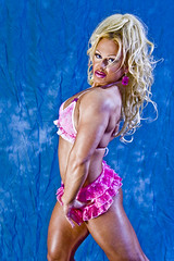 Fitness model - Blonde - Raw photos (unedited) (Rick Drew - 19 million views!) Tags: hot sexy ass panties back model tits underwear legs boobs muscle bra chick bighair bikini blonde bimbo bodybuilder shape workout fitness abs fit tanned