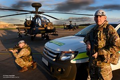 MPGS Patrol guarding Apache Helicopters (Defence Images) Tags: uk man male sunrise army moving belt clothing apache gun action aircraft military attack crest equipment helicopter camouflage badge pouch weapon vehicle soldiers british beret kneeling landrover defense a2 defence mtp firearm headwear personnel sa80 aiming webbing assaultrifle combats 556mm smallarms identifiable plce middlewallop patrolvehicle mpgs adjutantgeneralscorps multiterrainpattern personalloadcarryingequipment ah1d themilitaryprovostguardservice