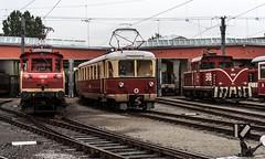 28.08.2006 sterreich, Salzburg. Salzburger Lokalbahn. SLB 61, .SLB 7 K.Bay.Sts.B. MBCL 101 Salzburg - Berchtesgaden und SLB ET 33 rangieren, SLB 71 (ruhrpott.sprinter) Tags: railroad salzburg train germany logo deutschland austria 1 sterreich bc diesel 33 natur eisenbahn rail zug 11 71 63 berge v stadt nrw passenger alpen fret 53 et 85 ruhr ruhrgebiet 162 32 freight 62 locomotives 109 41 46 slb metropole 61 monheim lokomotive stadtwerke sprinter bgl ruhrpott salzburger gter sonderzug verkehrsbetriebe reisezug lokalbahn ellok kbaystsb lamprechtshausen seutg