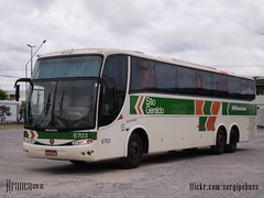 So Geraldo (MG) 6703 (Jos Franca SN) Tags: bus mercedes mercedesbenz g6 autobus onibus paradiso marcopolo buss autocarro omnibusse