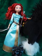 Merida & Angus (sh0pi) Tags: doll singing angus disney plush merida plsch disneystore puppe singende deboxed
