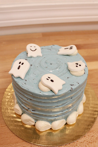 Booberry Ghost Cake