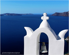 Le Grand Bleu ... (giovannispina31) Tags: blue sea sky island mare santorini greece grecia oia isola mayol egeo aegeansea legrandbleu